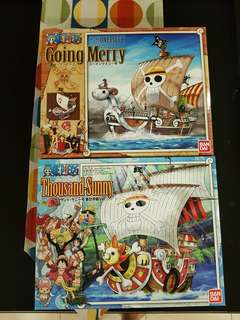 *National Day Sales* One Piece Going Merry + Thousand Sunny