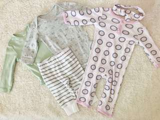 Carter's, H&M, Yoga Sprout Set (6months)