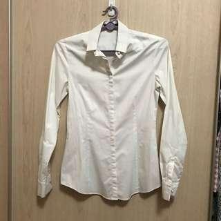 G2000 White Formal Blouse