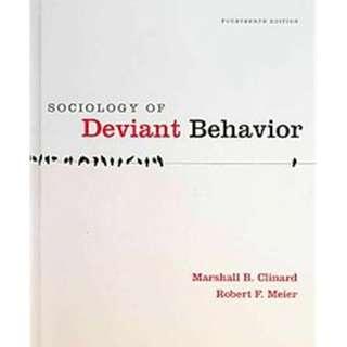 Sociology of Deviant Behavior, 14th edition (ebook)