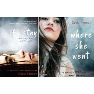 (ebook) If I Stay Series