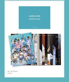 Wanna one summer package mini bromide