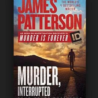 (ebook) Murder, Interrupted Book by James Patterson