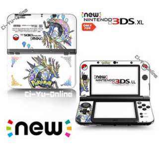 🚚 Pokemon X Decal Skin for New Nintendo 3DS XL