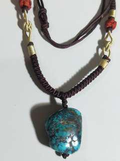 🚚 百年老綠松石~最美麗的幸運石~質潤