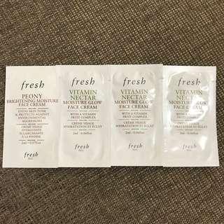 Fresh 面霜4包 共8mL Peony Vitamin Face Cream