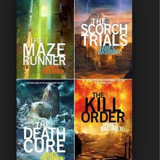 (ebook) maze runner series