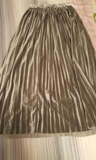 銀灰半身裙
