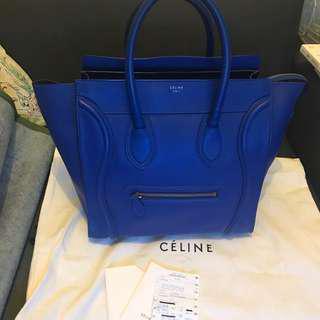 🈹🈹🈹Sale** 100% Real 85% New Celine Mini Luggage
