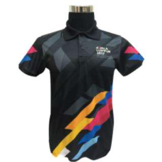 KL 29th SEA GAMES COLLAR TSHIRT XS-2XL