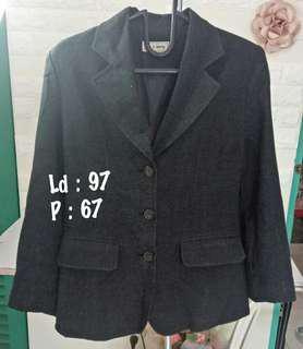 Jas / blazer hitam abu