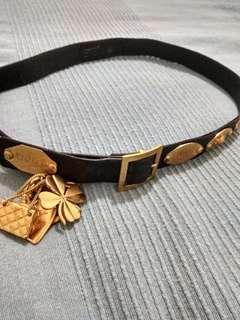 Authetic vintage Chanel Belt