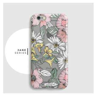 Floral Phone Case [iPhone Samsung Vivo Huawei Oppo]
