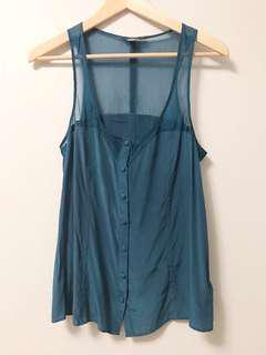 Forever 21 silk tank in small