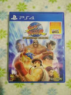 PS4 Street Fighter 30th Anniversary Collection (Used)
