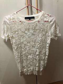 French connection white top