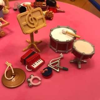 森林家族 音樂樂器