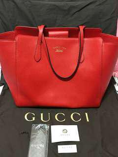 REAL Gucci Swing Tote Bag Large size