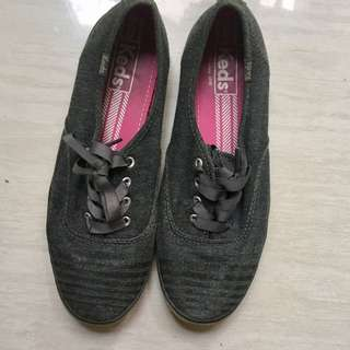 Dark Grey Keds (Authentic) REPRICED
