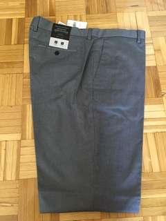 BNWT Non iron stretch grey dress pants