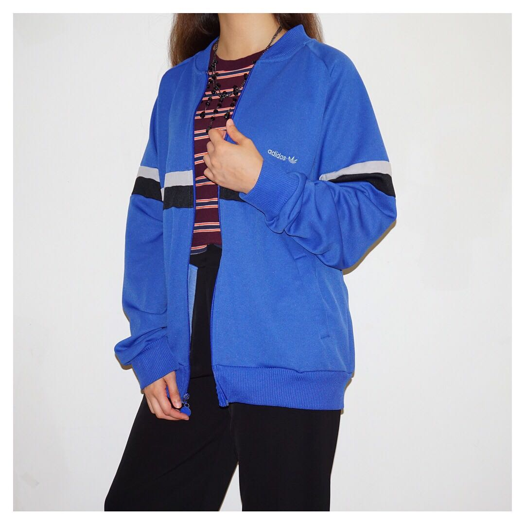Adidas Bomber Track Jacket Womens Fashion Clothes Outerwear On Jaket Hodie Sk 17 Photo