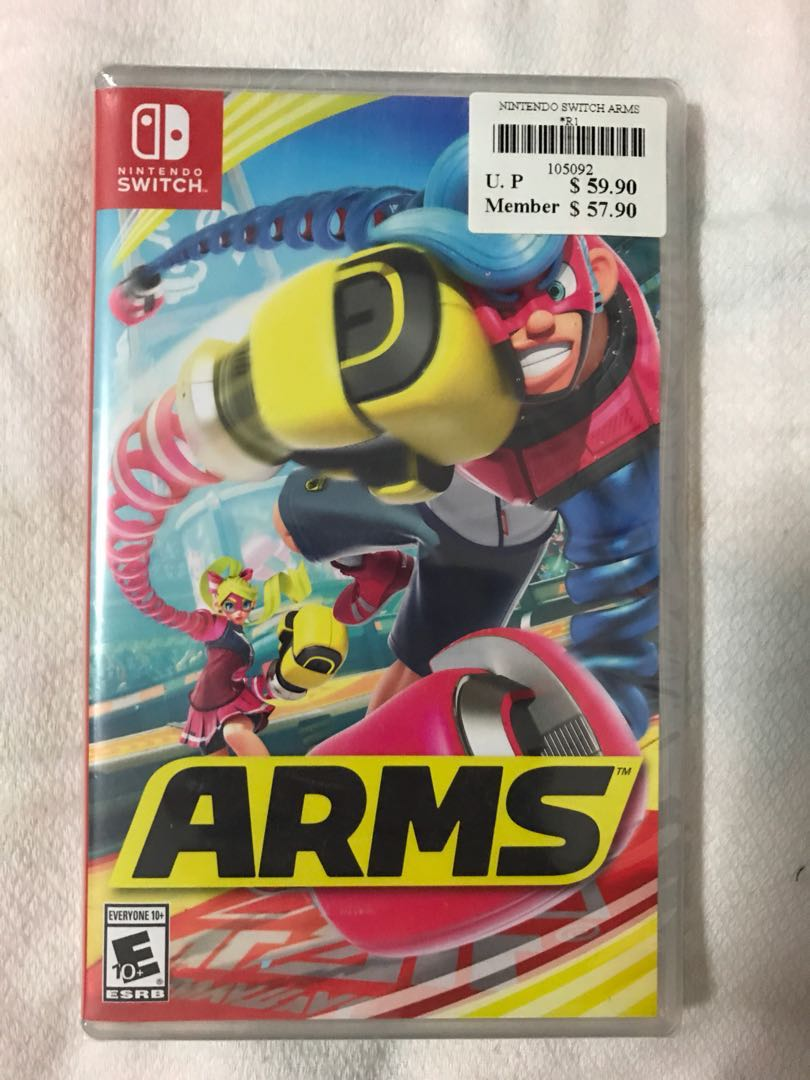 Arms Nintendo Switch Toys Games Video Gaming On Carousell