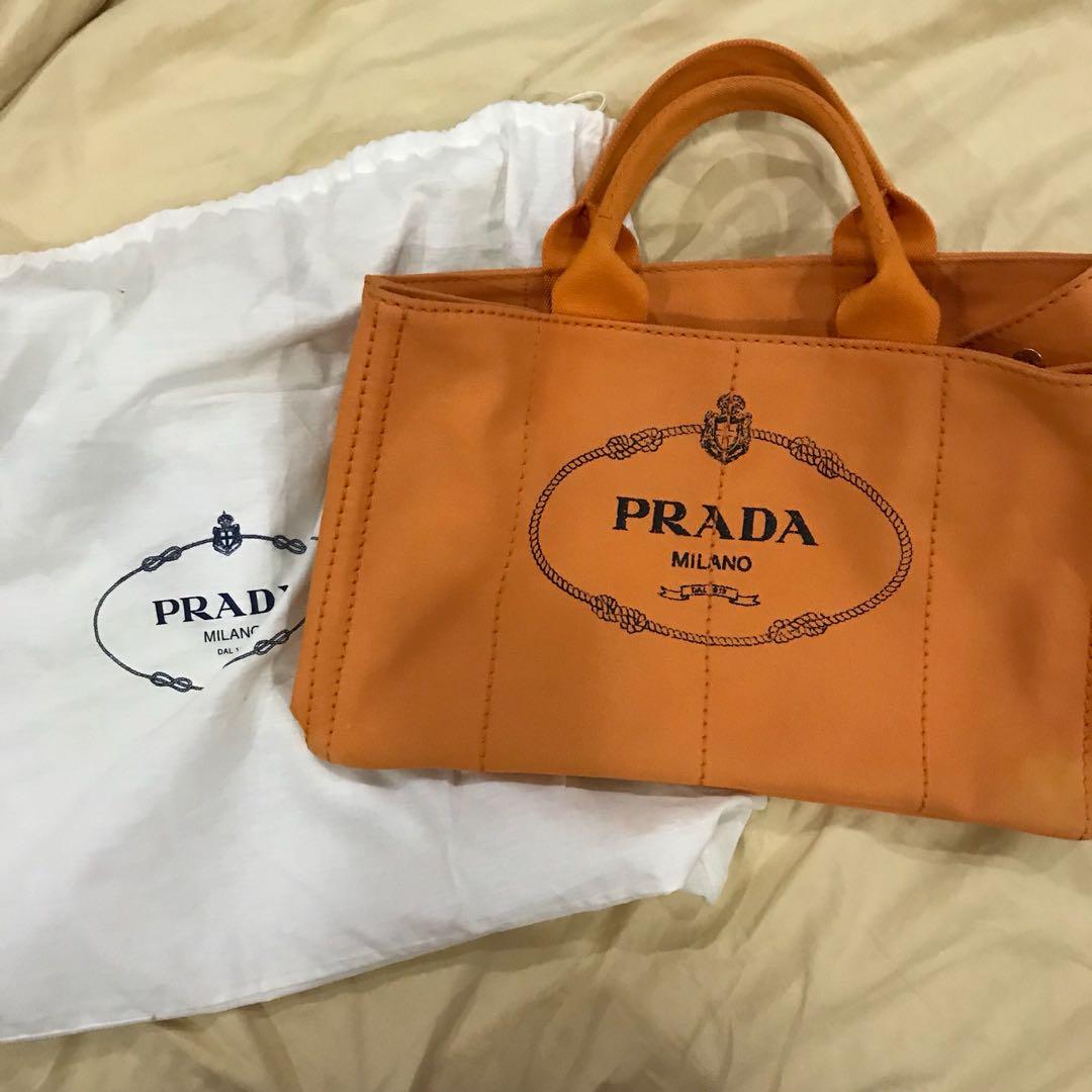0f1dd8c65f42 Authentic Prada Canapa BN1872 bag, Women's Fashion, Bags & Wallets ...