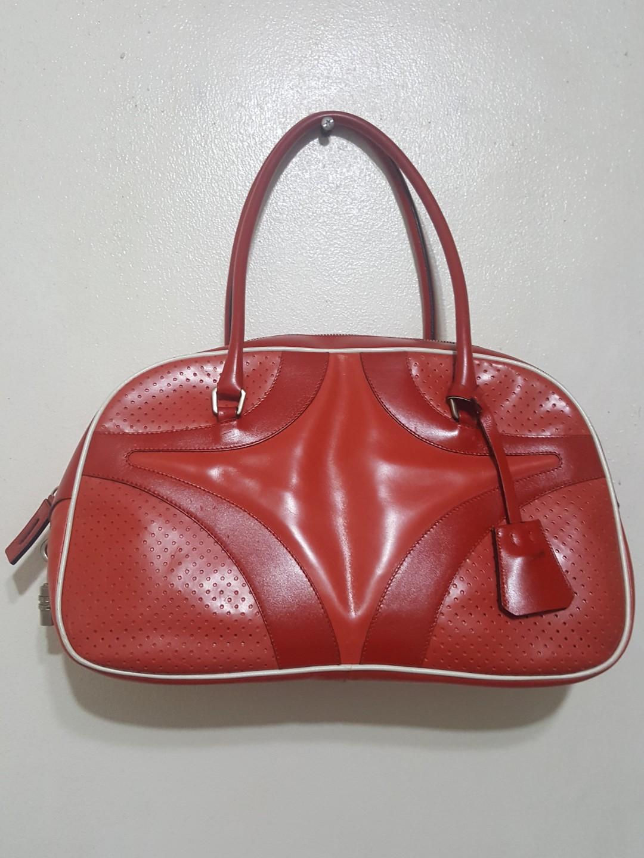 Original Prada Vitello sport bowler bag 618e3cb743f80