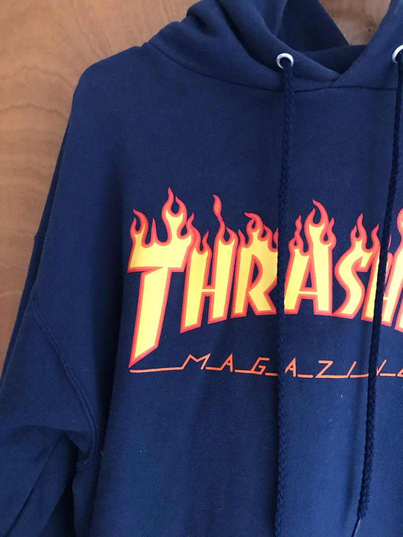 Blue Thrasher hoodie