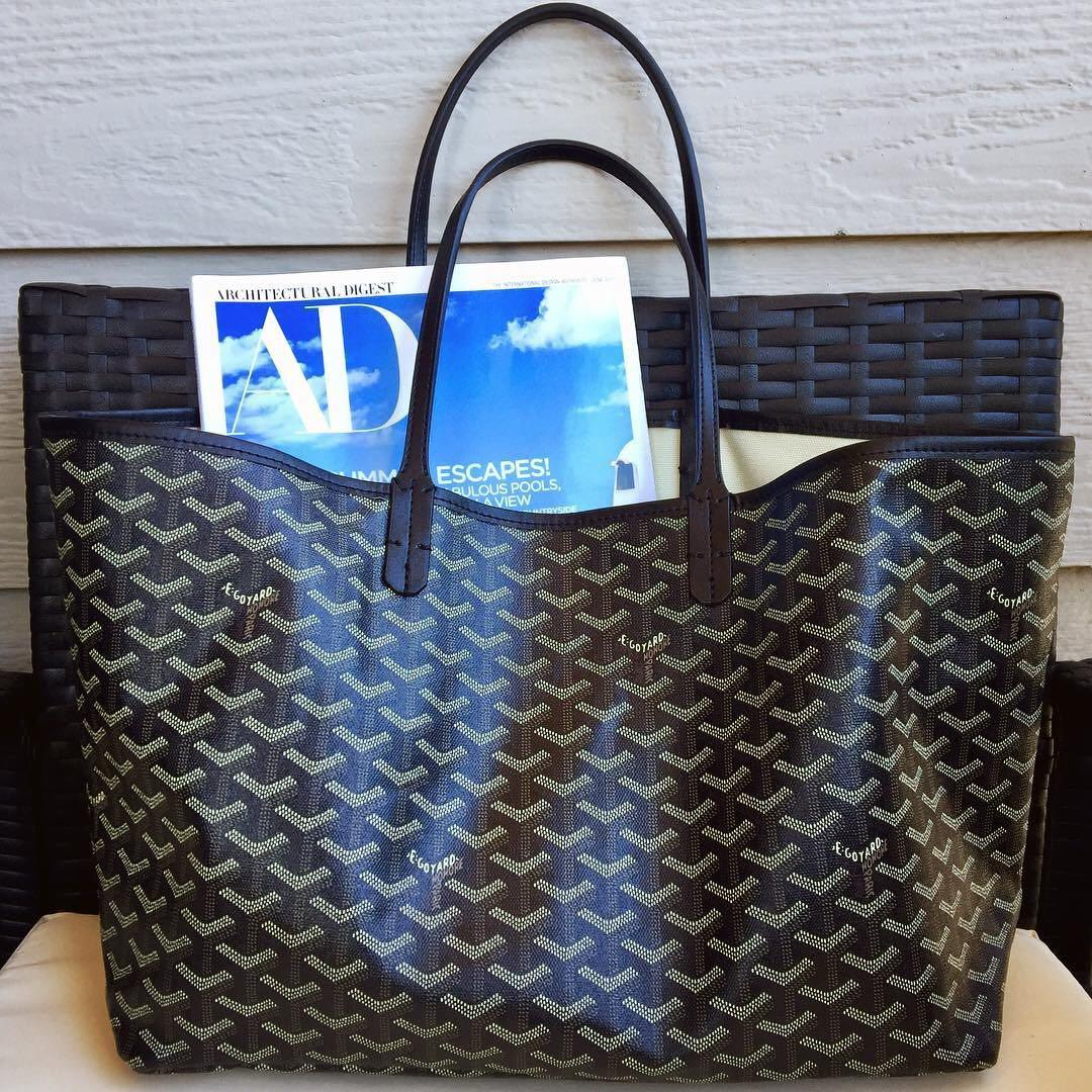 2018 shoes check out new appearance BN Goyard St. Louis Tote GM (Classic Black), Women's Fashion, Bags ...