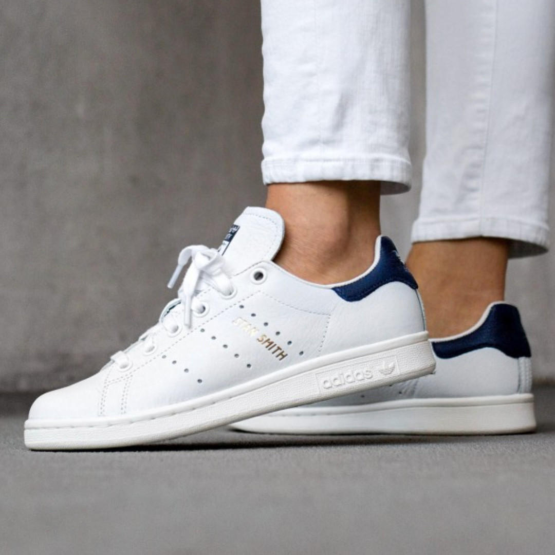 photos officielles 7ec83 b9d7d BNIB Adidas Stan Smith White Dark Blue Noble Ink CQ2870 US10 ...