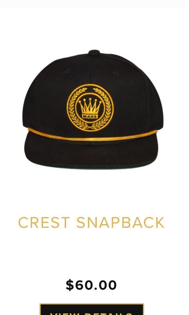 Bruno Mars Snapback Merchandise c4aa44b984e