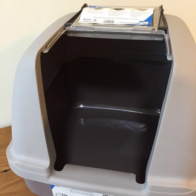 hagen catit hooded cat litter box. Catit Jumbo Hooded Cat Litter Box, Pet Supplies, For Cats, Accessories On Carousell Hagen Box A