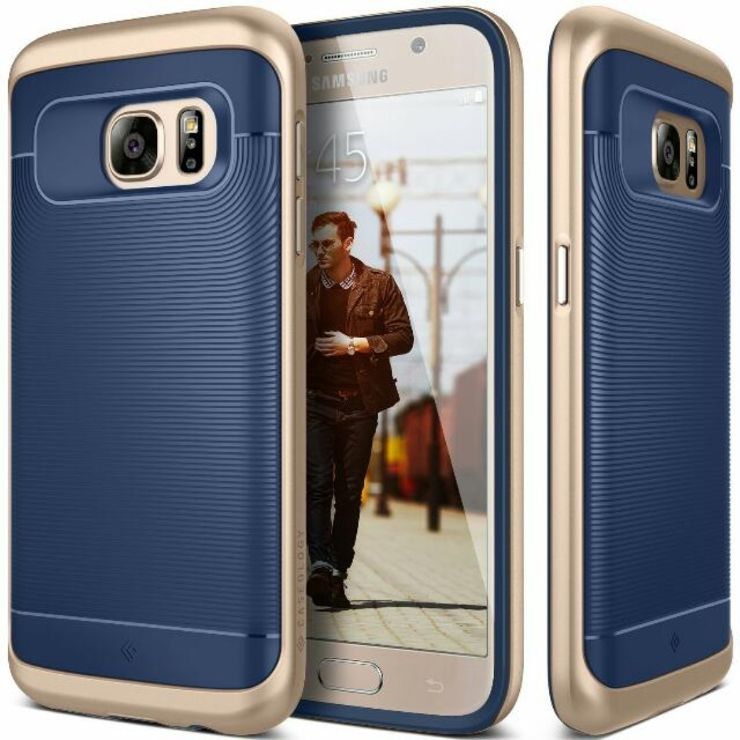 detailed pictures 0b266 4bfc7 ⭐CLEARANCE⭐ Caseology S7 Case, [Wavelength] [Blue]