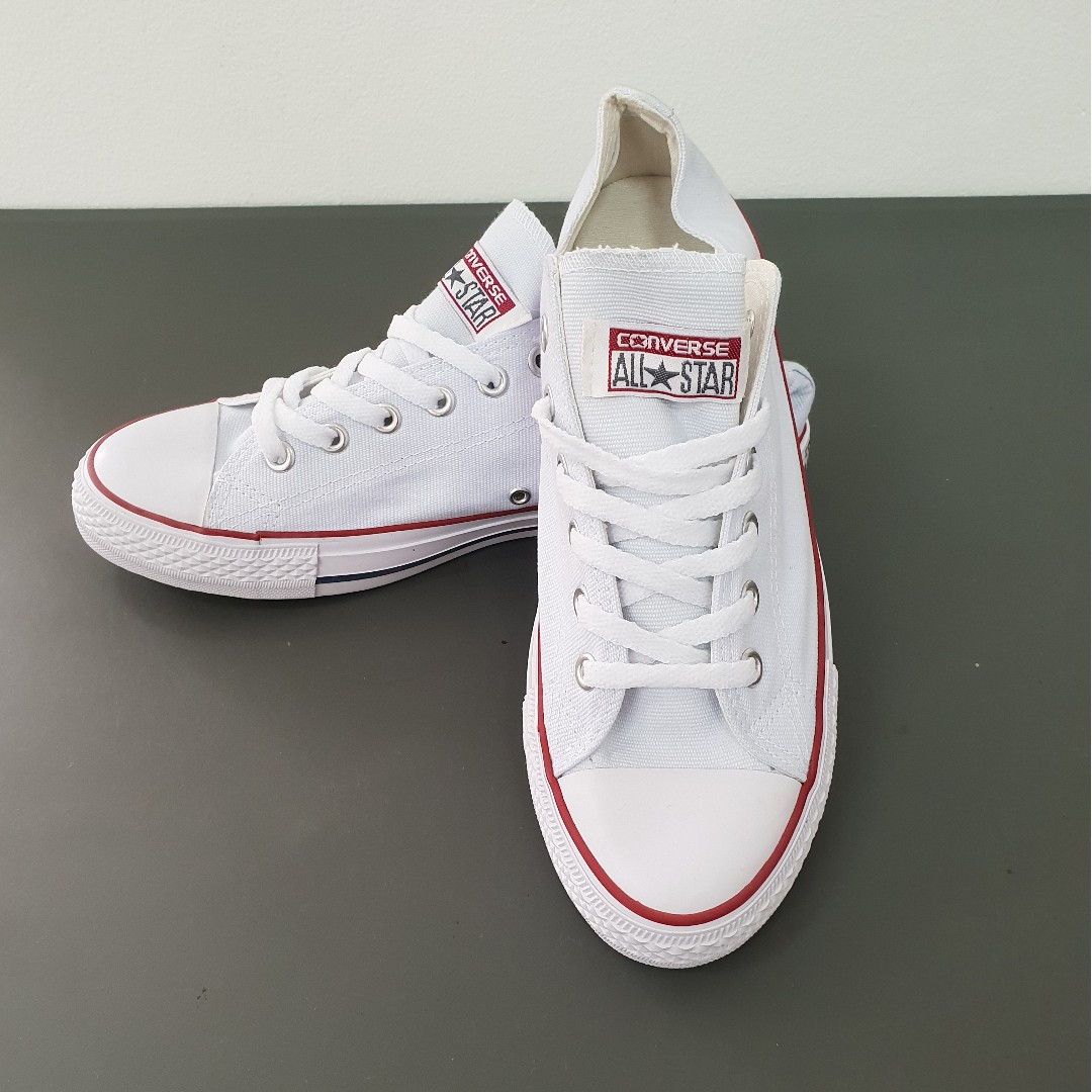 dcc816ee691a2d Converse All Star Chuck Taylor White (Size  Men - 8.5  Women - 10.5 ...