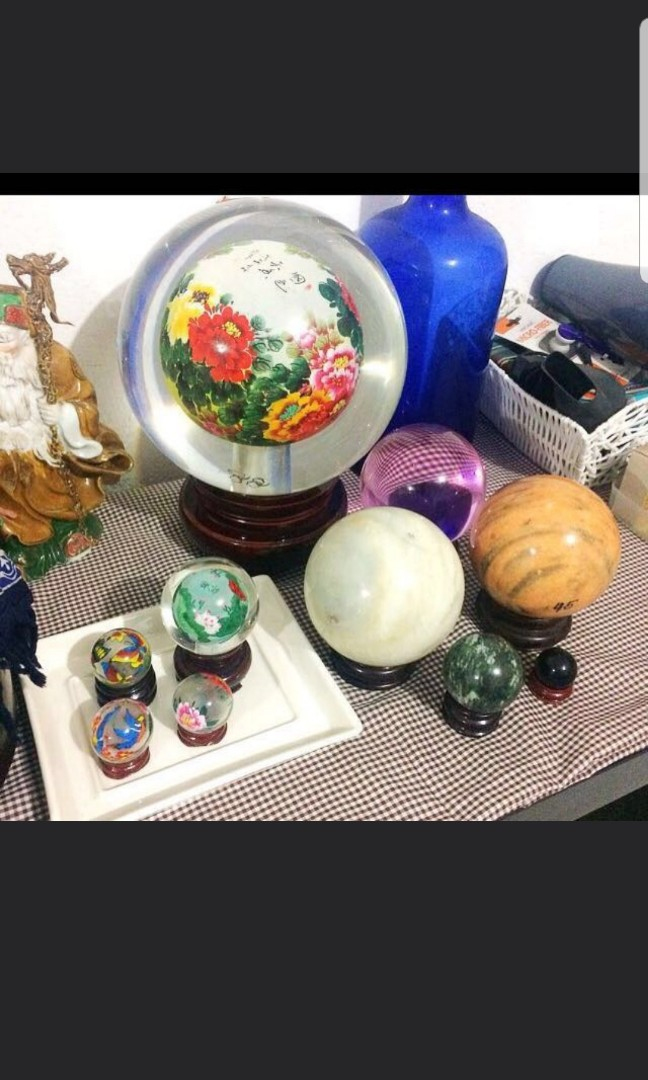 Decorative Glass And Marble Balls Furniture Home Decor Others