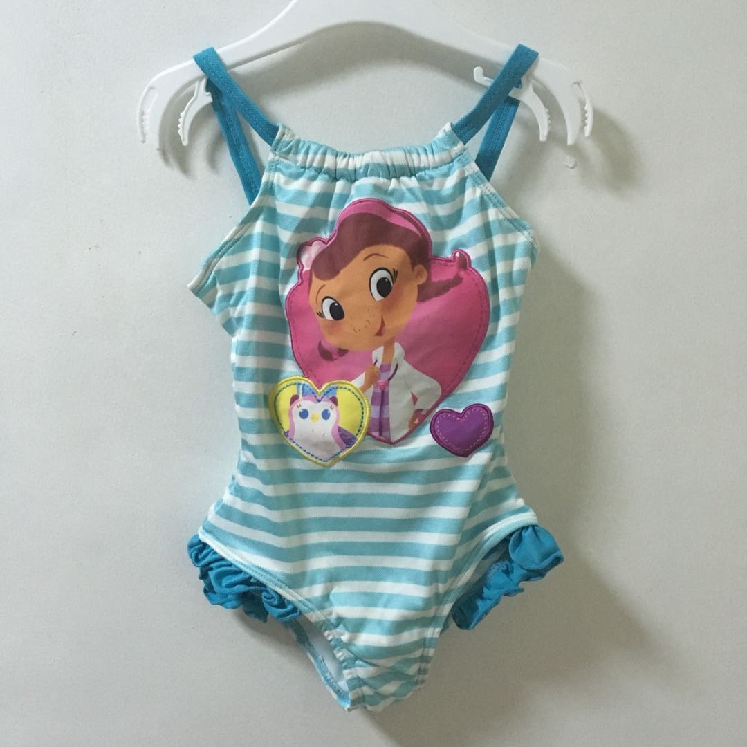 dd9ff7df5a1db Doc McStuffins One Piece Swimsuit BNEW NO TAGS, Babies & Kids, Girls ...