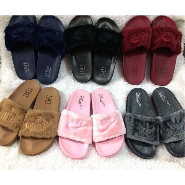 Fenty Slippers/ Fur Slide