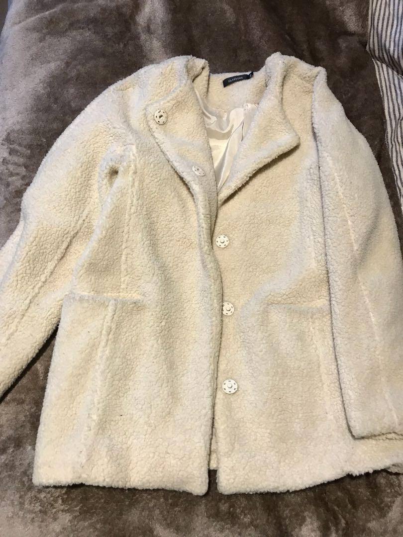 Glassons Teddy Bear Coat