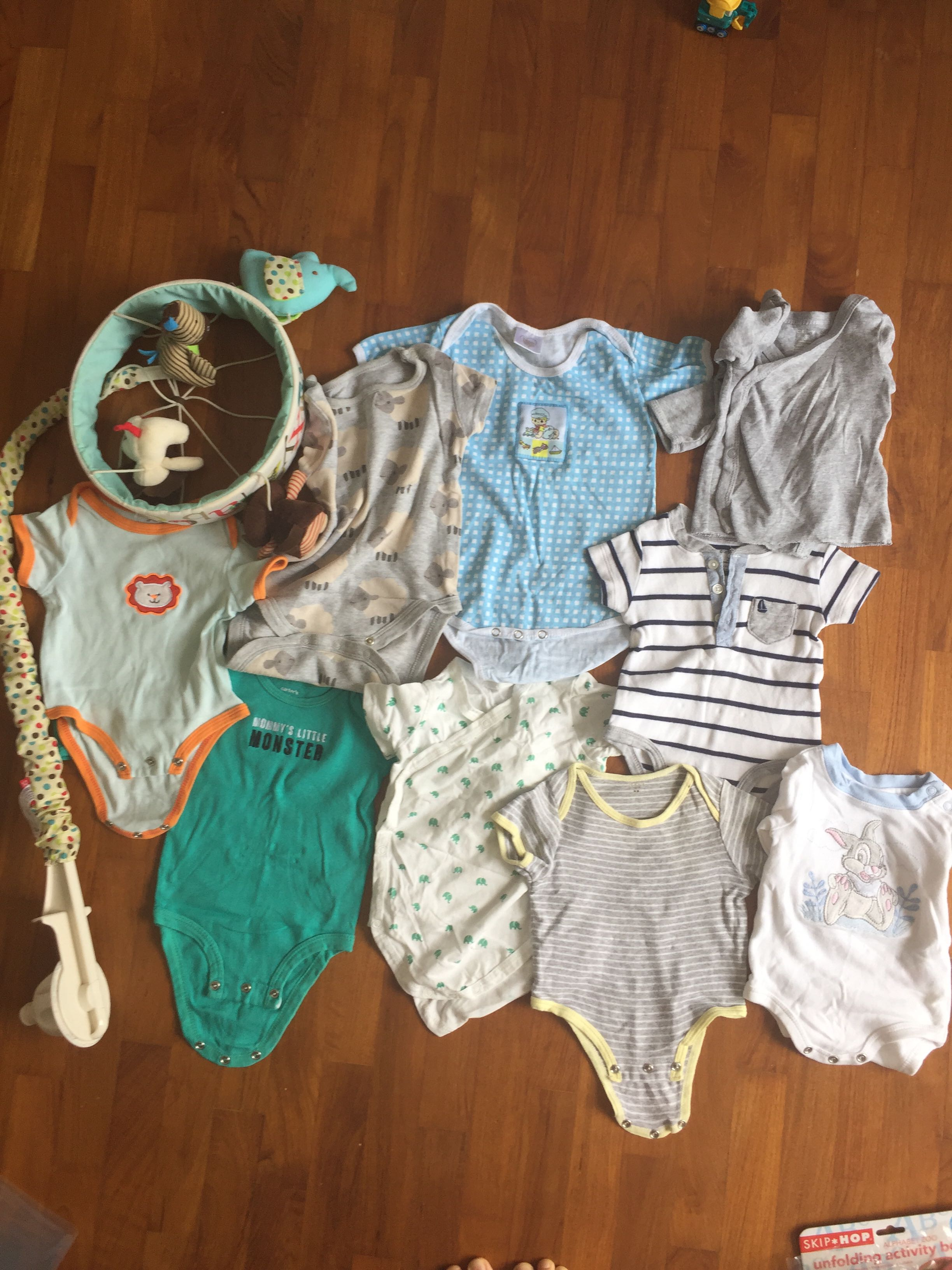 cb654c0e5 Grab bag newborn used clothes tops onesies