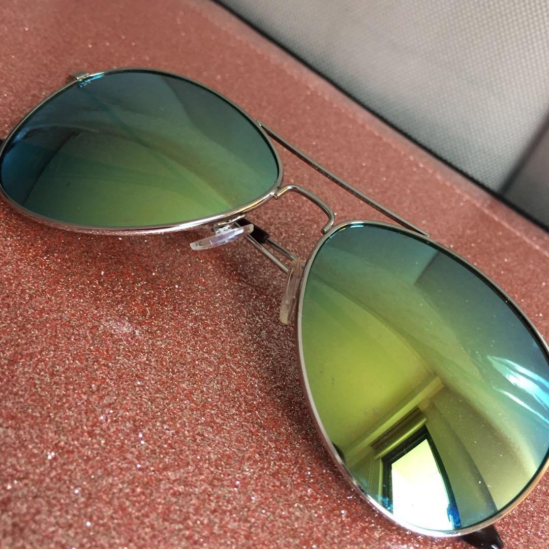 708e703ae96b H&M Aviator SunGlasses, Women's Fashion, Accessories on Carousell