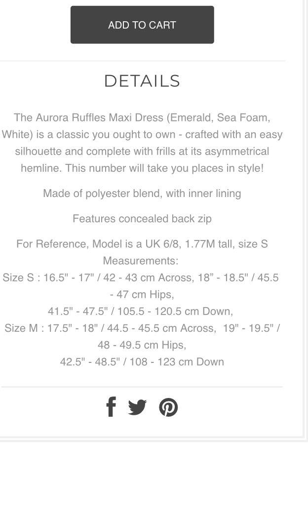 4ad5505c7d9 Hollyhoque Aurora Ruffles Maxi Dress