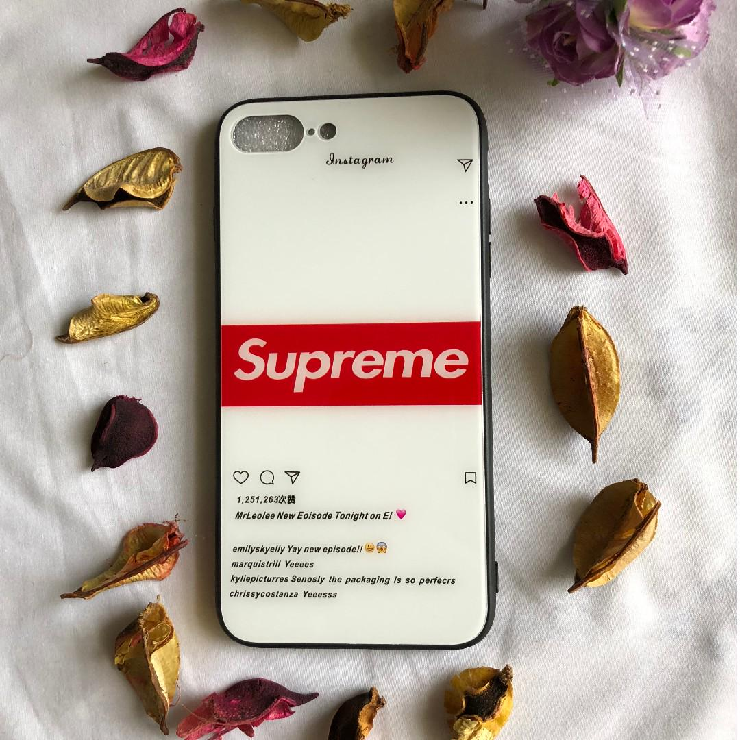 iPhone X & iPhone 8 PLUS Supreme Cover/Case