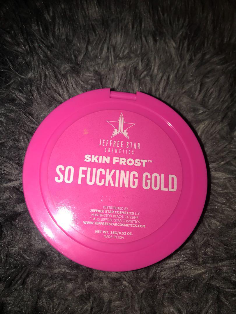 Jeffree Star Highlighter So F*cking Gold