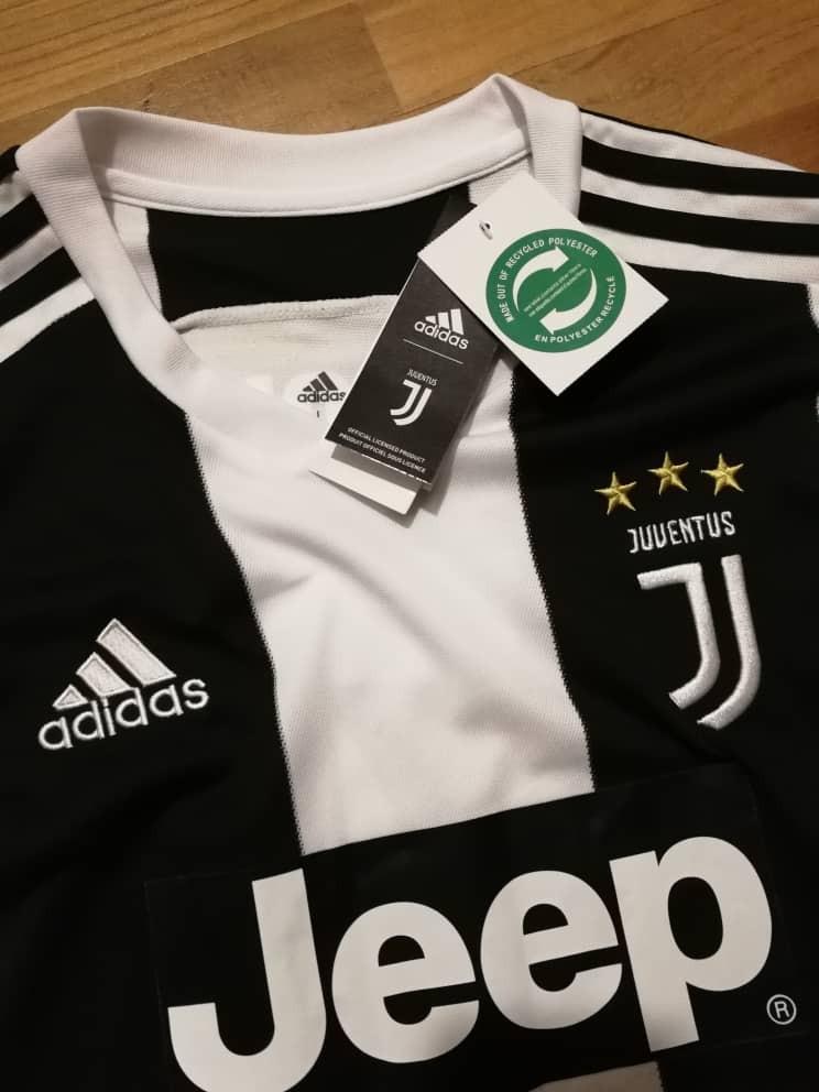 Jersi Juventus F.C. Jersey 2018 19 Gred 3A Plain (Pre Order) a708fc13f