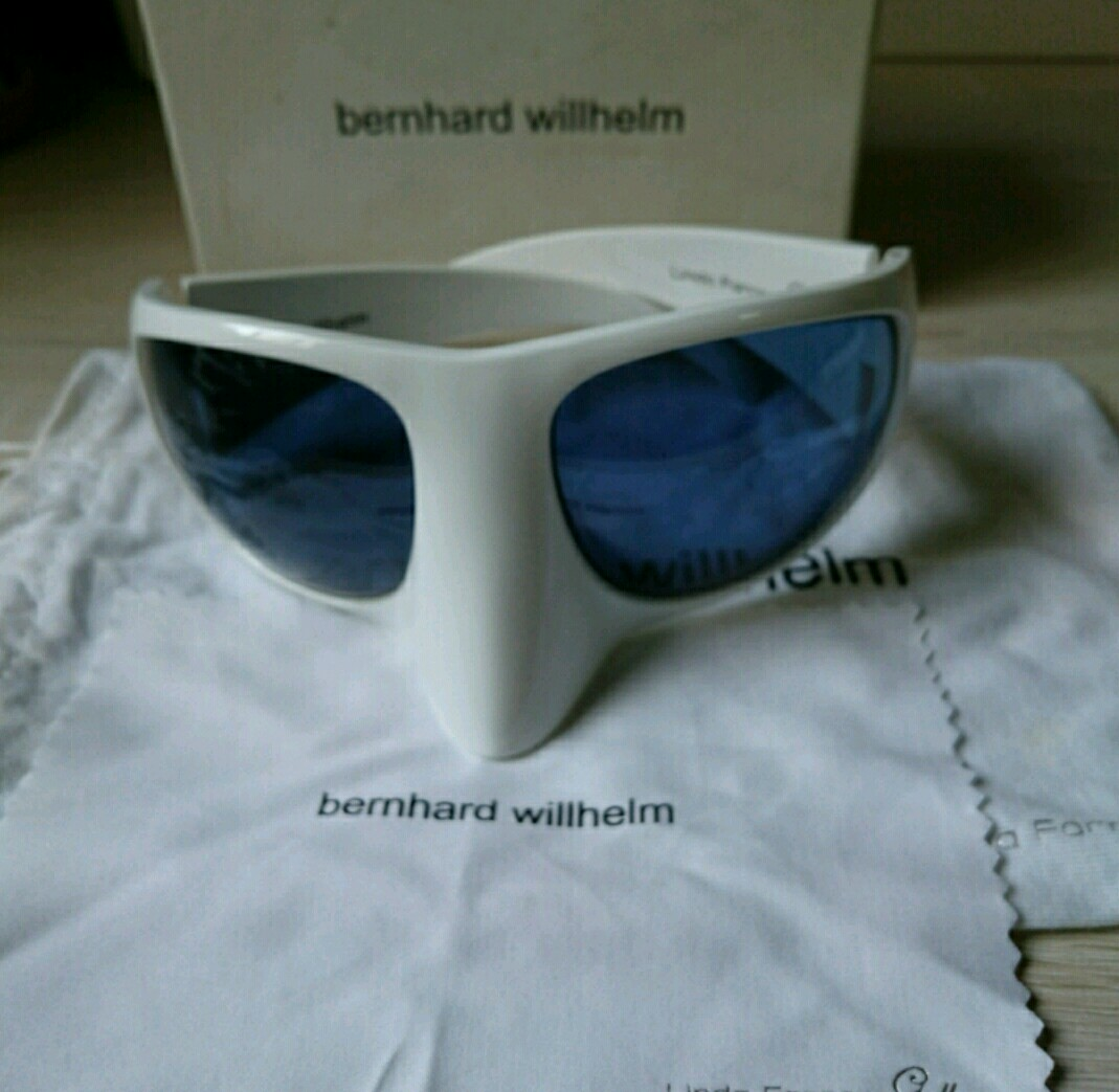 2000c587cfd Linda Farrow   Bernhard Willhelm White  Mask  Sunglasses