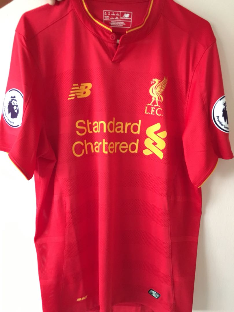 super popular f1895 63522 Liverpool 16/17 Home Kit, Sports, Sports Apparel on Carousell