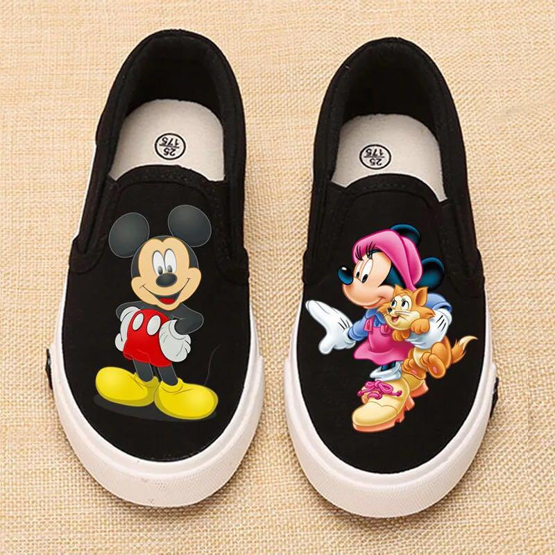 Mickey and Minnie Mouse Canvas Shoes
