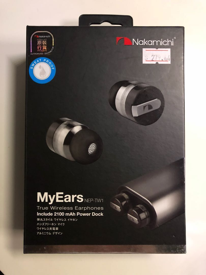 Mint Condition Nakamichi Myears Wireless Earbuds Electronics My Mini Plus Speaker With Fm Radio Pink Audio On Carousell