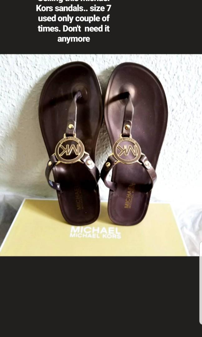 Mk sandals size 7